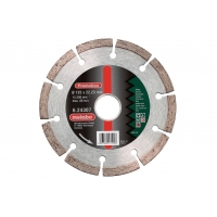 """Алмазный отрезной круг METABO """"SP"""", 115x22,23 мм, универсальный, сегментированный (624306000)"""